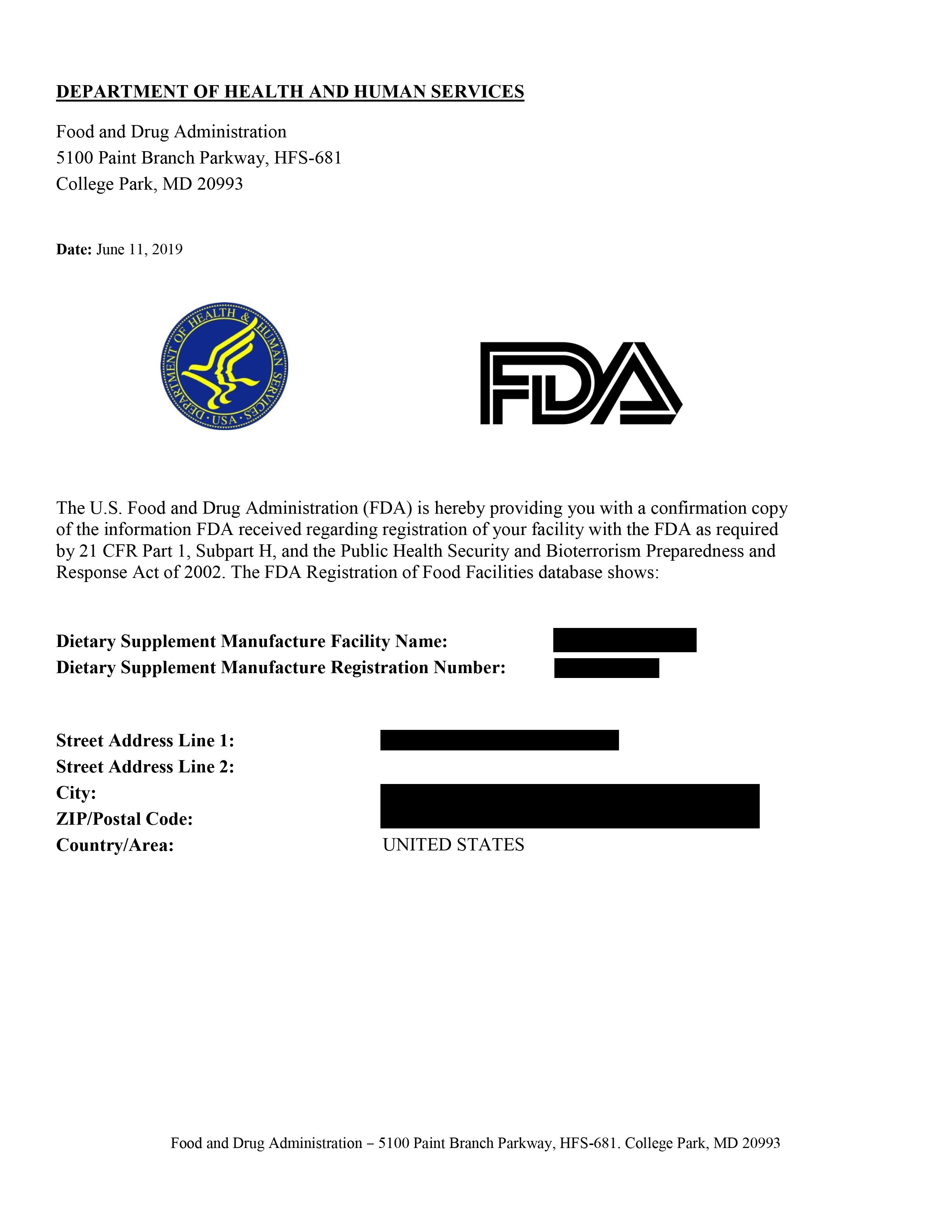 сертификат от агенция по храните