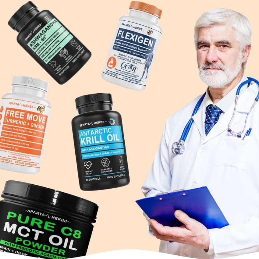С нас здравето е по-лесно. Гарантирано от науката. Sparta Herbs